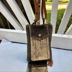 Myra Bag Stamp pocket pouch Crossbody Purse